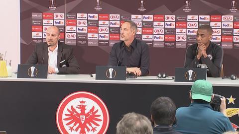 Pressekonferenz bei der Eintracht