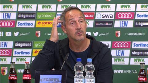 Eintracht-PK nach Augsburg
