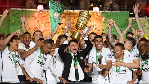 Impressionen vom Pokalsieg der Eintracht