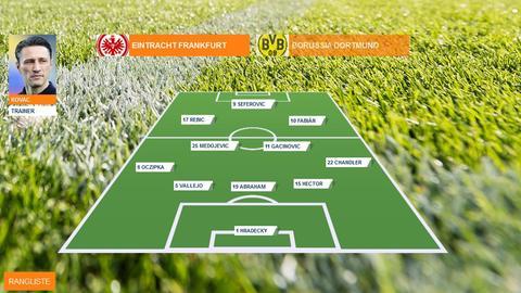 Spielerzeugnis Eintracht Frankfurt