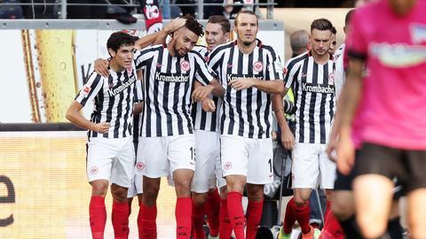 Rhode-Storch Eintracht Jubel Hertha
