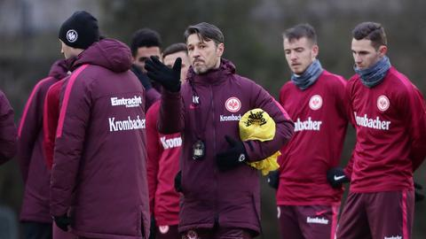 Niko Kovac bei Eintracht-Training