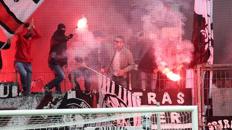 Rhode-Storch Eintracht Pyro