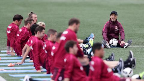 Niko Kovac und sein Team