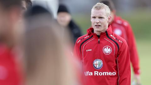 Rode im Eintracht-Training