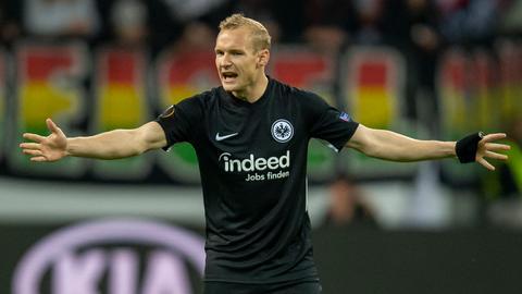 Eintracht-Spieler Sebastian Rode