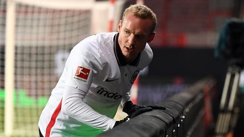 Der gegen Union Berlin eingewechselte Sebastian Rode von Eintracht Frankfurt