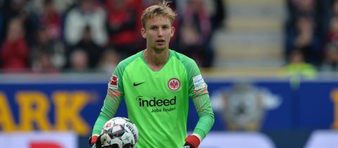 Frederik Rönnow von Eintracht Frankfurt