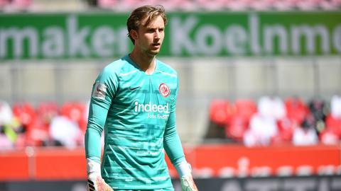 Frederik Rönnow im Trikot von Eintracht Frankfurt