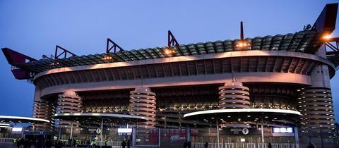 """Eine """"Kathedrale des Fußballs"""": Das Mailänder Guiseppe-Meazza-Stadion"""
