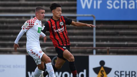Jong-min Seo noch im Trikot von Eintracht Frankfurt