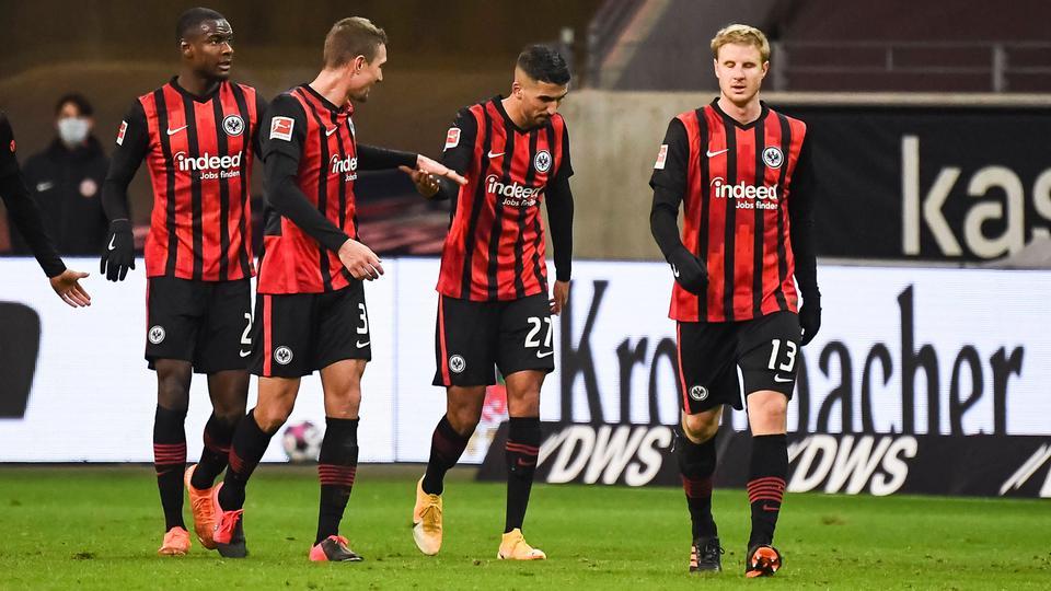 Aymen Barkok Eintracht Frankfurt RB Leipzig