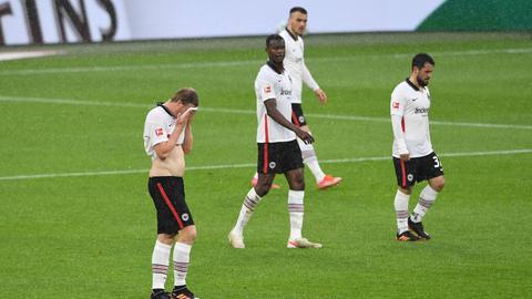 Frust Eintracht Frankfurt Schalke 04