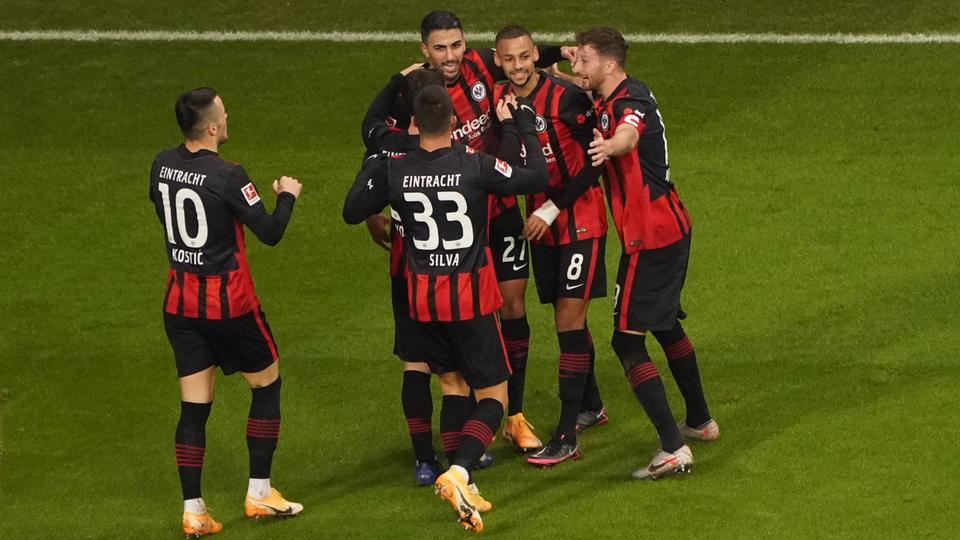 Eintracht Frankfurt Mönchengladbach Jubel