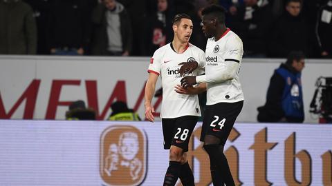 Dominik Kohr und Danny da Costa waren bei Eintracht zuletzt nur noch selten im Einsatz.