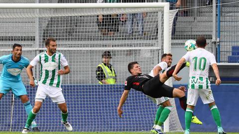 Speilszene aus Eintracht Test gegen Betis Sevilla