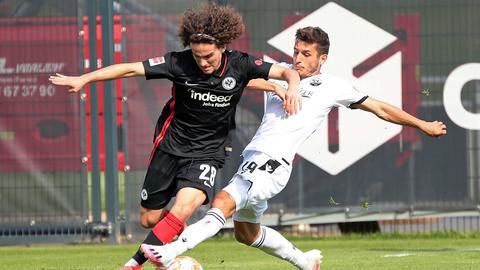 Eintracht Frankfurt Sandhausen Fabio Blanco