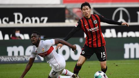 Eintracht Frankfurt VfB Stuttgart Daichi Kamada