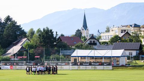 Eintracht-Training in Windischgarsten