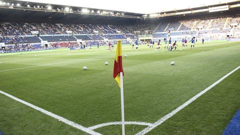 Das Stade de la Meinau, die Heimstätte von Racing Straßburg