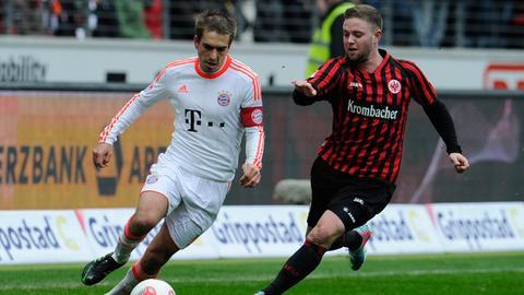 Marc Stendera in seinem ersten Bundesliga-Spiel für Eintracht Frankfurt
