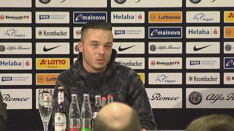 Yanni Regäsel, Neuzugang bei Eintracht Frankfurt