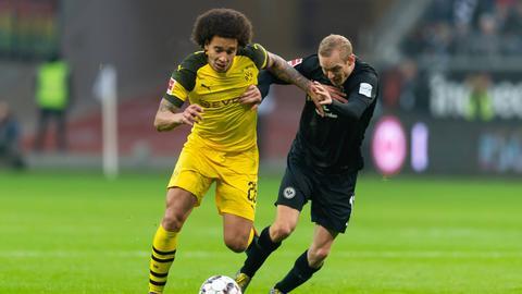 Sebastian Rode im Spiel gegen Dortmund.