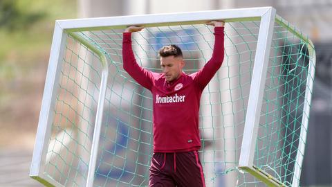 Danny Blum im Eintracht-Training