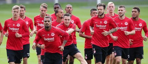 Training der Frankfurter Eintracht