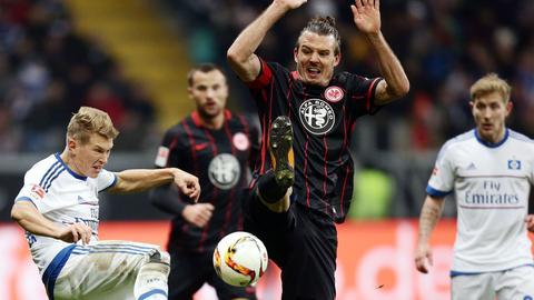 Alex Meier im Spiel gegen den HSV