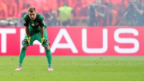 Lukas Hradecky von Eintracht Frankfurt