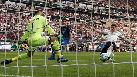 Luka Jovic trifft gegen die TSG Hoffenheim