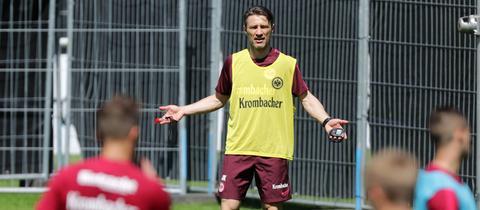 Niko Kovac im Eintracht-Training
