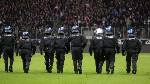 Storch Polizei Eintracht