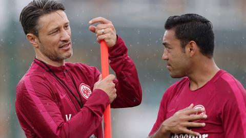 Niko Kovac im Gespräch mit Marco Fabian