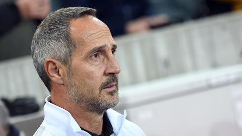 Eintracht-Trainer Adi Hütter äußert sich nach der Niederlage gegen Borussia Mönchengladbach.