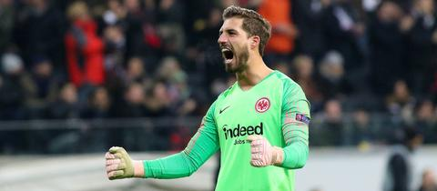 Kevin Trapp in der Europa-League-Saison 2018/2019
