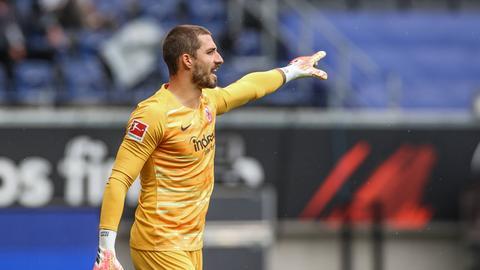 Kevin Trapp steht noch bis 2024 bei der Eintracht unter Vertrag.