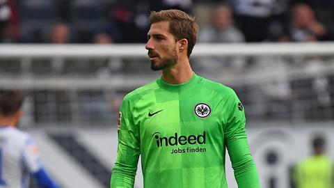 Kevin Trapp im Spiel gegen Hertha BSC