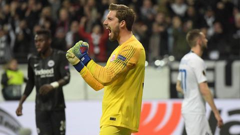 Torhüter Kevin Trapp freut sich auf ein heißes Duell bei Inter Mailand.