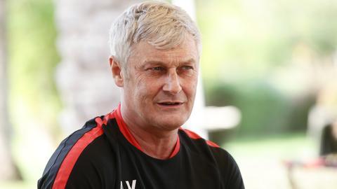Eintracht-Trainer Armin Veh