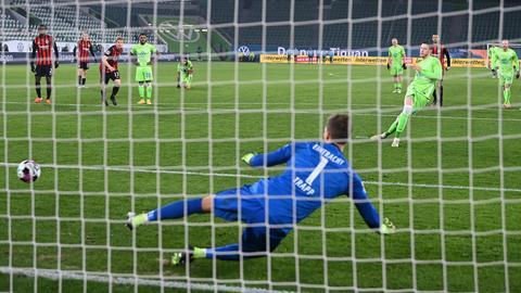 Wout Weghorst VfL Wolfsburg Eintracht Frankfurt
