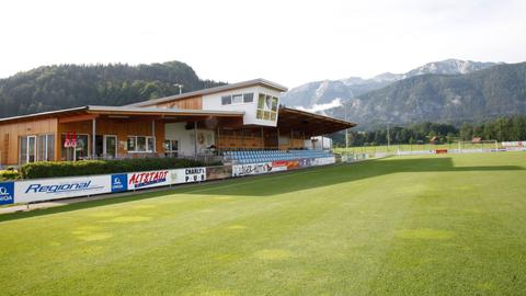 Der Trainingsplatz in Windischgarsten