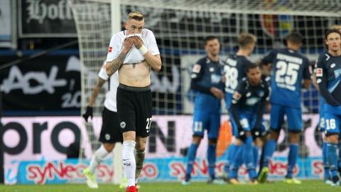 Marius Wolf im Spiel der Eintracht in Hoffenheim