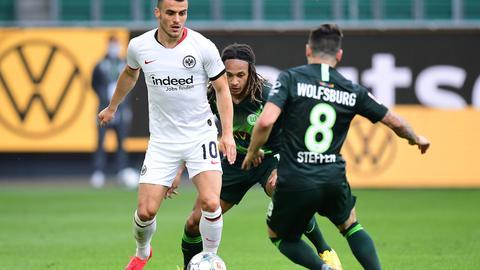 Filip Kostic im Spiel der Eintracht in Wolfsburg