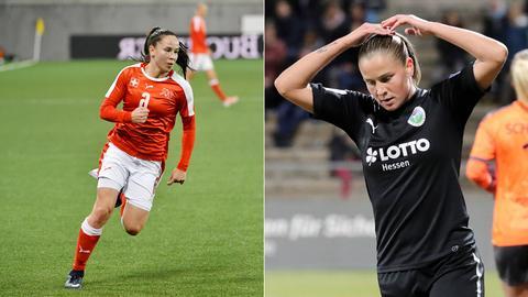 Géraldine Reuteler (li.) kommt, Ana-Maria Crnogorcevic geht.