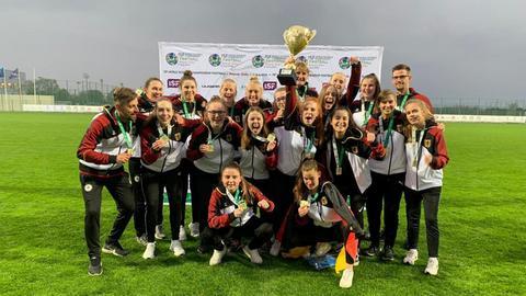 Frankfurts Weltmeister-Team