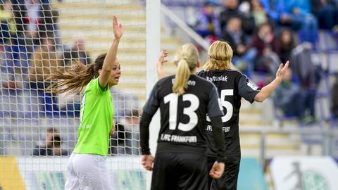 Für den 1. FFC Frankfurt gab es im Topspiel keine Punkte.