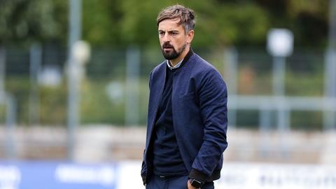 Eintracht-Trainer Niko Arnautis