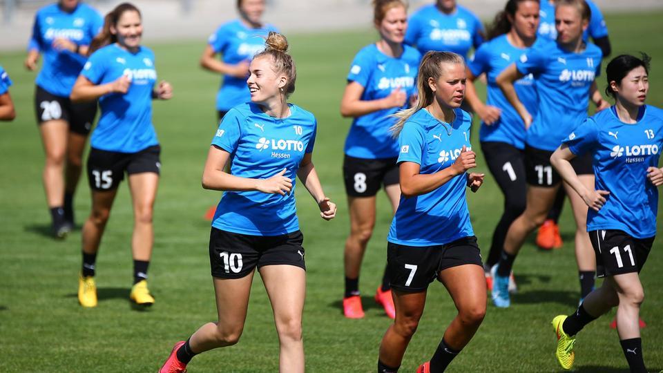 Training beim FFC Frankfurt